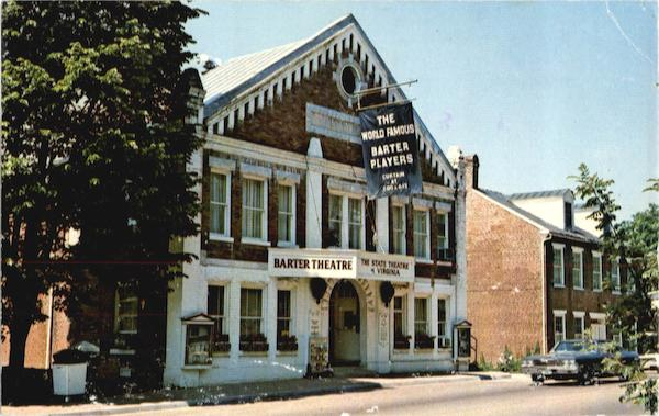 World-Famous Barter Theatre Abingdon Virginia