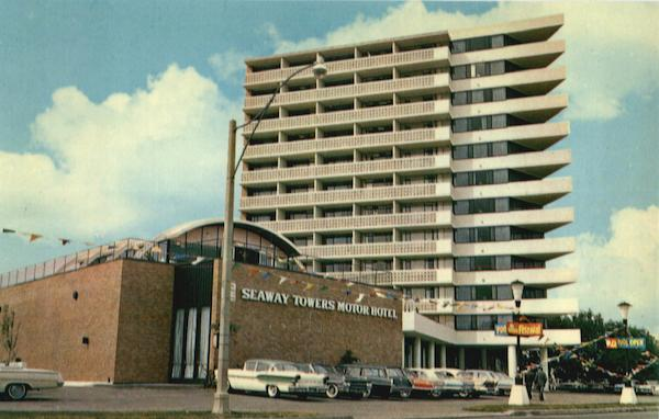 Seaway Towers Motor Hotel Lake Shore Blvd Toronto On Canada
