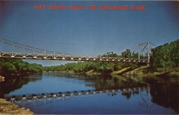 Way Down Upon the Suwannee River Mayo Florida