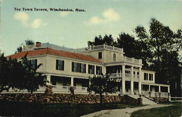Toy Town Tavern Winchendon Massachusetts