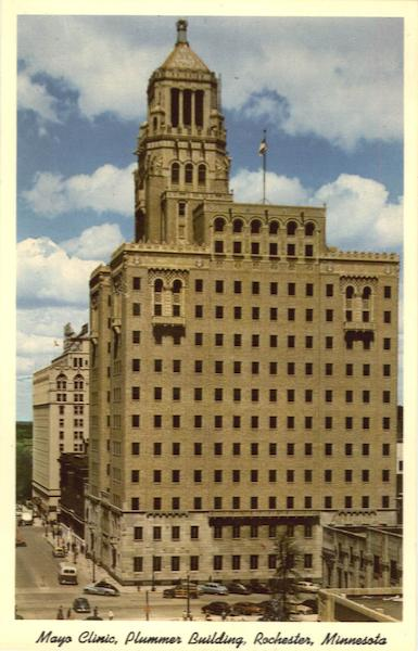 mayo clinic  plummer building rochester  mn