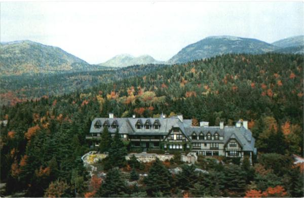 The Eyrie Summer Home of John D. Rockefeller Seal Harbor Maine