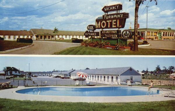 Turnpike Motel And Coffee Shop, Highway Route 73 Maple Shade New Jersey