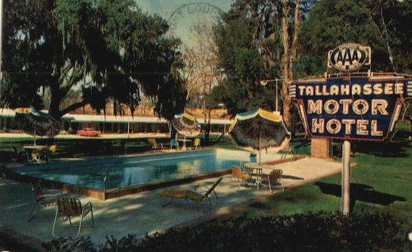Tallahasse Motor Hotel And Dining Room Florida