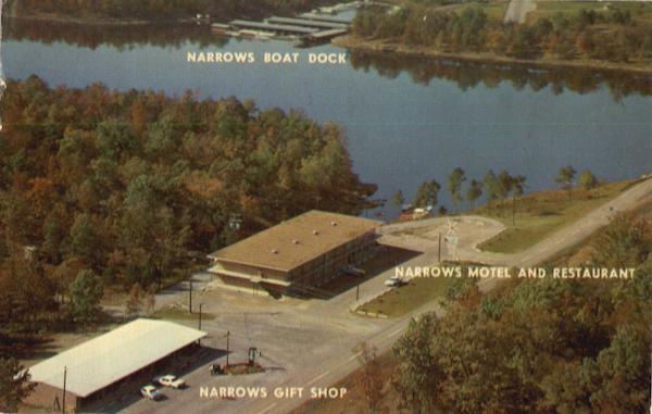 Narrows Boat Dock,Narrrows Motel And Restaurant Higden Arkansas