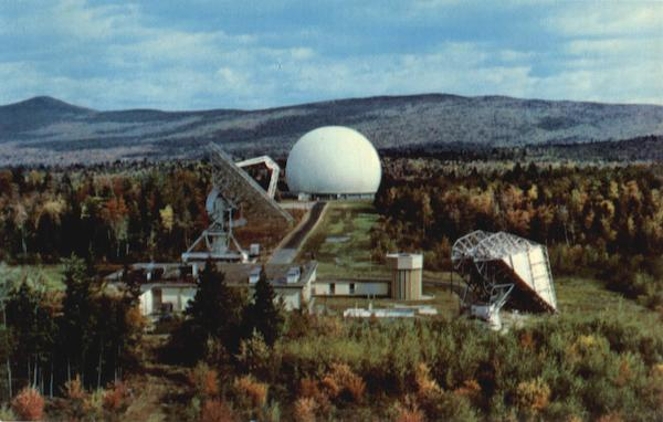 Bell Telephone Systems Andover Earth Station Maine