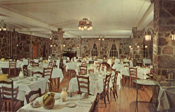 Dining Room Mountain Lake Hotel