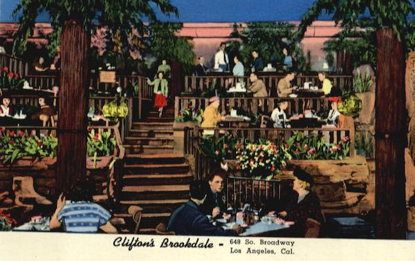 Clifton's Brookdale, 648 So. Broadway Los Angeles California