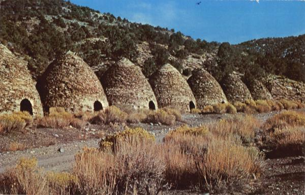 The Charcoal Kilns in Wildrose Canyon Death Valley National Park California