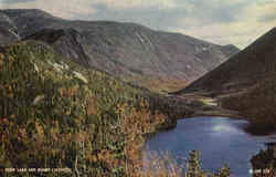 Echo Lake and Mount Lafayette, Franconia Notch Postcard