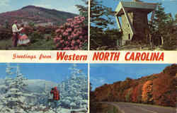 Four seasons in Western North Carolina