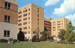 University Hospital, University of Missouri Postcard