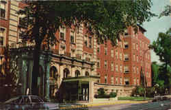 West Suburban Hospital, 518 North Austin Boulevard Postcard