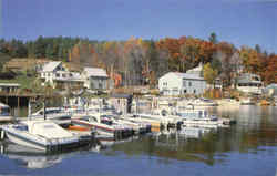 Sunapee Harbor Postcard