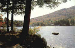 Lake Sunapee Postcard