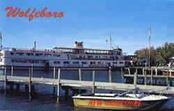 M.V. Mount Washington at Dockside Postcard