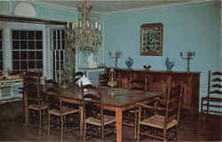 Dining room of the Big House at Malabar Farm