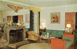 Living Room of the Big House at Malabar Farm