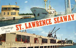 Greetings from St. Lawrence Seaway