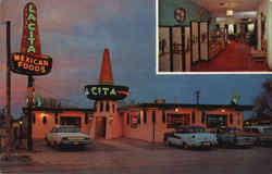 La Cita Mexican Restaurant, 812 South First St Postcard