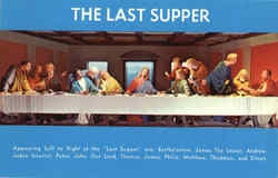 Christus Gardens - The Last Supper Postcard