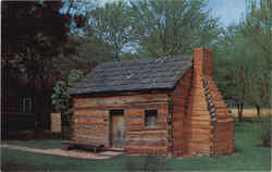 Lincoln's Boyhood Home, Knob Creek Postcard
