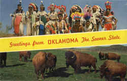 Greetings from Oklahoma The Sooner State