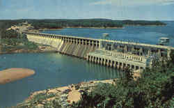 Bagnell Dam and Lake of the Ozarks