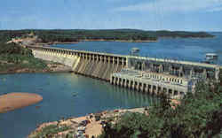 Bagnell Dam and Lake of the Ozarks Postcard
