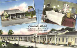 Colonial Motel and Restaurant, U.S. Route 11- 4 miles North