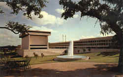 University of Texas Lyndon B. Johnson Library Postcard