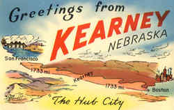 Greetings from Kearney, Nebraska