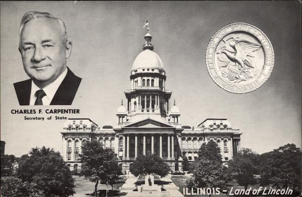 Illinois - Land of Lincoln (State Capitol) Springfield
