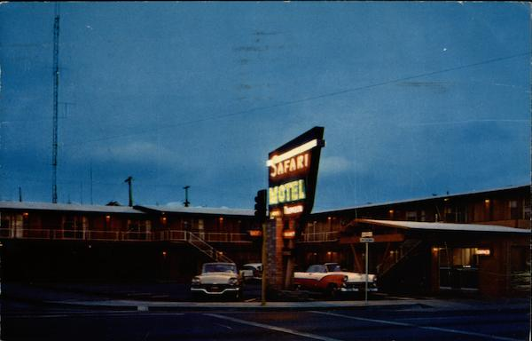 Safara Motel Eureka California