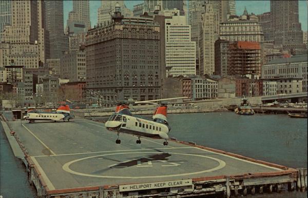 Call Citi Card >> New York Airways 25 passenger Boeing V-170 Turbocopter ...