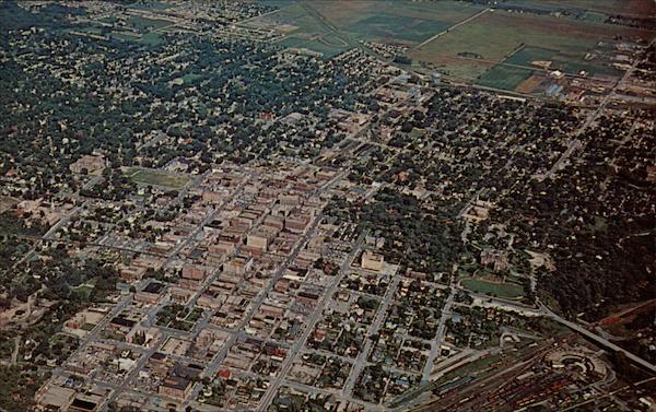 Aerial View Fort Dodge Iowa