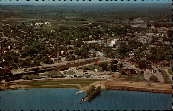 Aerial View of South Barrie, Ontario, Canada