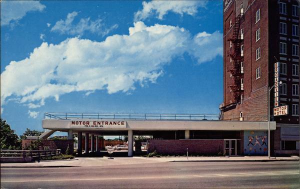 Motor Entrance To 400 Parking Spaces Wichita Ks