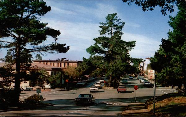 Ocean Avenue Carmel California
