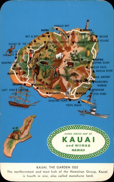 Aloha Airline Map of Kauai and Niihau Hawaii Maps on honolulu hawaii map, kahului hawaii map, anahulu river hawaii map, kailua hawaii map, kapaa hawaii map, hilo hawaii map, lihue map, kona hawaii map, poipu map, hawaii road map, lanai map, molokai map, hawaii volcanoes national park map, maui map, oahu map, kaunaoa bay hawaii map, nawiliwili hawaii map, niihau hawaii map, marshall islands hawaii map, kalaupapa hawaii map,