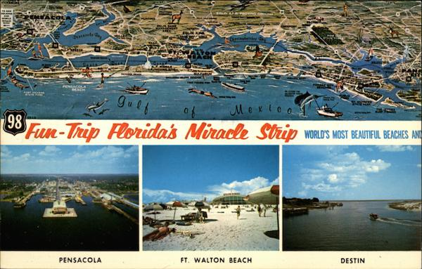 98 Fun Trip Florida's Miracle Strip - World's Most Beautiful Beaches Pensacola