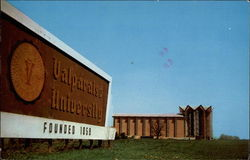 Vlaparaiso University Chapel Postcard