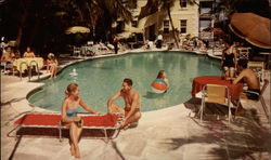 The Royal Victoria Hotel - Pool View Postcard
