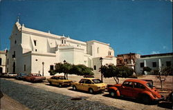San Jose Church, Old San Juan Postcard