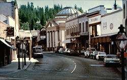 View of Mill Street in Grass Valley, California