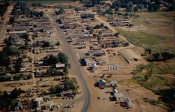 Aerial View of Roosevelt, Utah