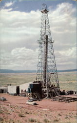 Typical Uintah basin oil well