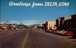 Greetings from Delta, Utah