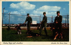 Sentry Dogs and Handlers - Lincoln Air Force Base