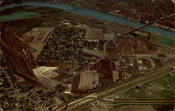 Aerial View of Peoria Plant - Caterpillar Tractor Co